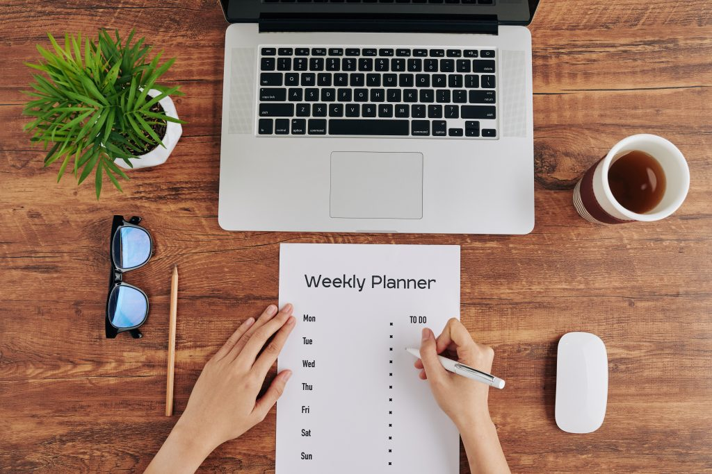 weekly house cleaning plans